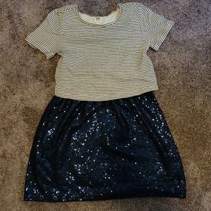 Cutie Gap Sequin Dress